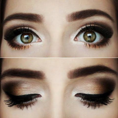 tutorial smokey eyes