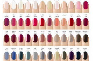 culori unghii
