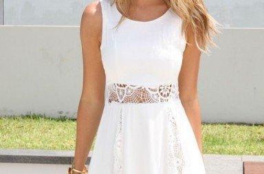 rochia all white
