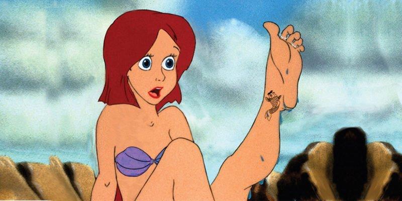 Little Mermaid Rule 34