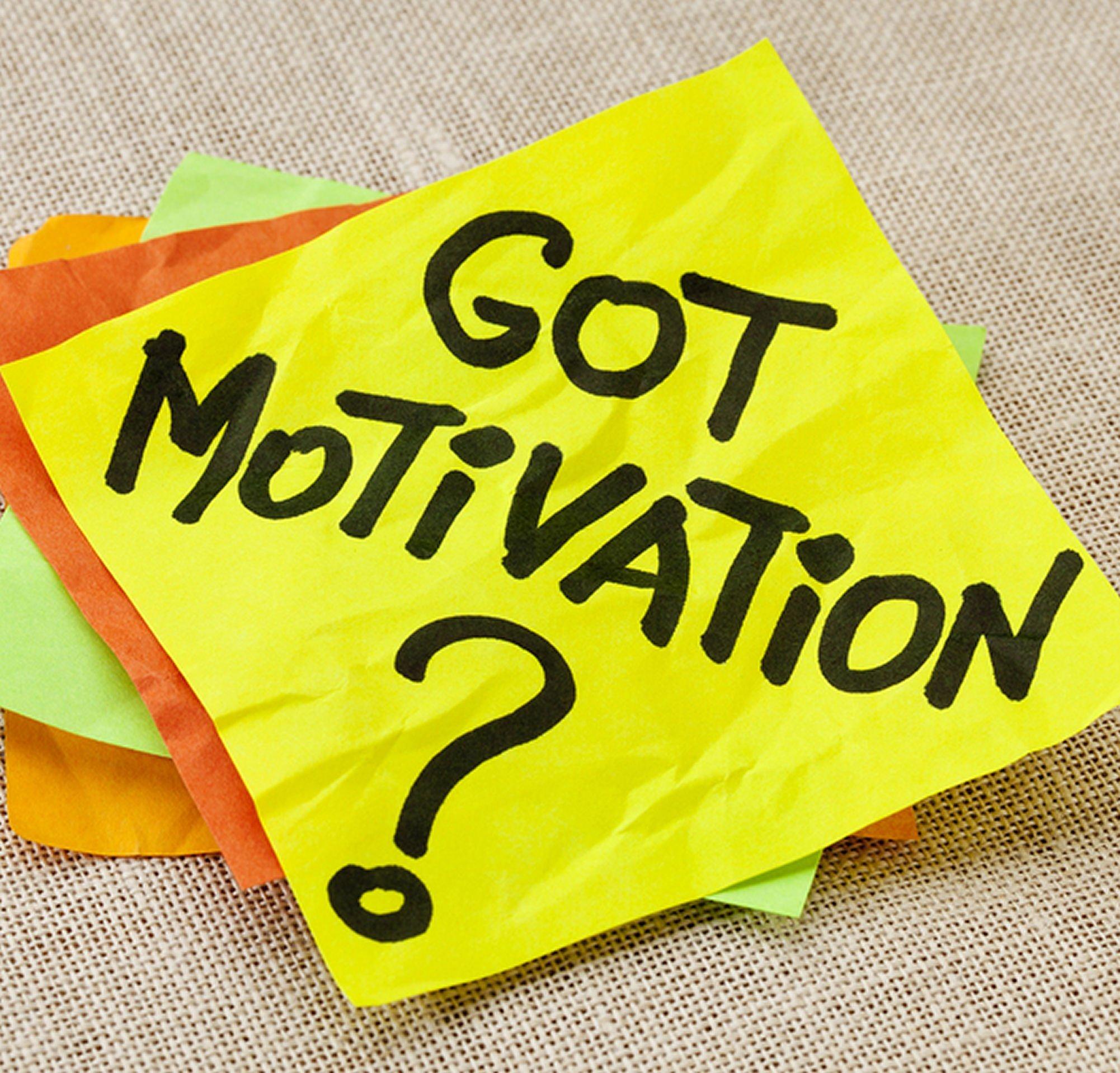 Cum sa-ti gasesti motivatia daca ai pierdut-o